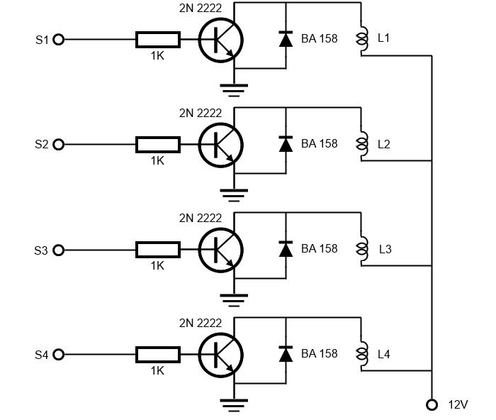 control motor pasos unipolar arduino
