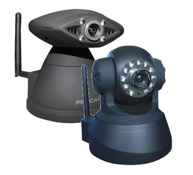 Robotic IP cameras