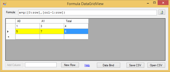 FormulaDataGridView data binding