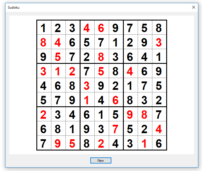 Sudoku solver application